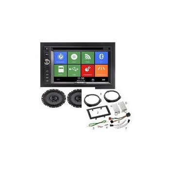 Radio navegador GPS-DVD con retrocamara