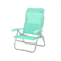 Silla-cama de playa aluminio