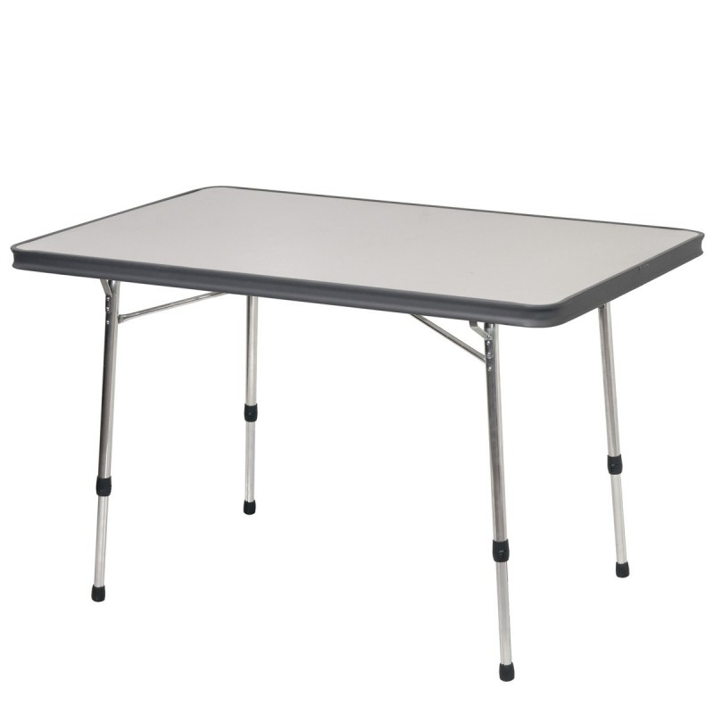 Mesa rectangular aluminio covilas - Mesas de camping plegables decathlon ...